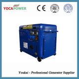 De draagbare Lucht 5.5kw koelde de Kleine Elektrische Generatie van de Diesel Macht van de Generator