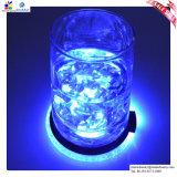 Stuoia promozionale della birra della barra chiara della gomma LED del PVC