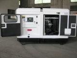 44kw/55kVA 침묵하는 디젤 엔진 전기 발전기