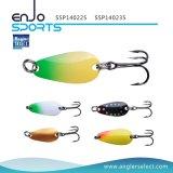 Atração superior seleta do equipamento de pesca da colher da água do pescador com Vmc os ganchos Treble (SSP140225)