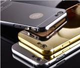 iPhone 6 аргументы за популярного трудного металла зеркала PC задней стороны обложки алюминиевого Bumper/6s