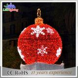 عطلة خفيفة خارجيّة عيد ميلاد المسيح [ستريت ليغت] زخرفة كرة ضوء بيع بالجملة في الصين