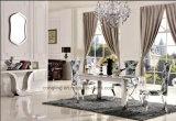Neuer Entwurfs-Glasesszimmer-Möbel, die Set speisen