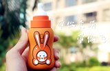 Cargador portable del teléfono de la batería de la potencia de la pintura encantadora divertida del estilo de la botella de leche