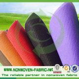 Fabrication de textile de tissu de Nonwoven du tissu 100% de Spunbond de polypropylène