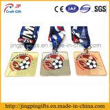 Kundenspezifische Zink-Legierungs-Andenken-Preis-Sport-Medaille mit Farbband