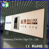 Grande Aluminum Profile Advertizing Display con Backlit LED Light