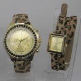 Soem Frau Leopard Quartz Watch Wholesale