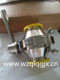 Санитарной зажатый нержавеющей сталью клапан Бабочк-Шарика