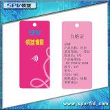 Tag Printable do cair da roupa da freqüência ultraelevada RFID