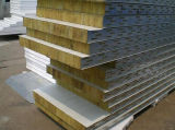 Пожар Rate Level Rock Wool Sandwich Panel для Sale