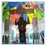 Парк атракционов возбуждая имитатор Bungee кино Vr имитатора кино 9d Vr Skydiving скача
