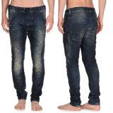 Кальсоны Jean джинсовой ткани прямых вскользь кальсон людей джинсыов OEM голубые