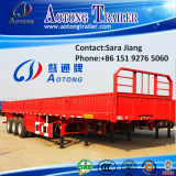 Tri-Axle Multi-Functional Flatbed Side Wall Trailer für Sale