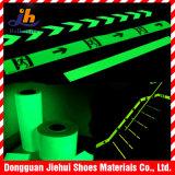 Cinta adhesiva fotoluminiscente de la película del animal doméstico para la cinta de la seguridad de la escalera