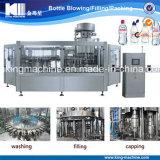 Linha de engarrafamento de enchimento automática da embalagem da água bebendo do frasco