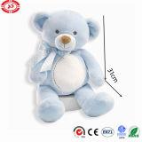 아기 선물 활 니스 장난감을%s 가진 연약한 장난감 곰을%s 밝은 파란색