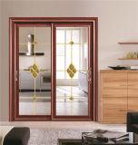 Portello scorrevole di vetro di alluminio 3201