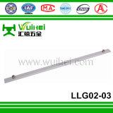 Cannelure de norme européenne d'alliage d'aluminium conduisant le levier pour le système multi de fenêtre de tissu pour rideaux et de serrure de point de porte avec ISO9001 (LLG002-03)