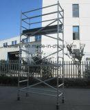 Aluminio portable seguro del andamio para la decoración