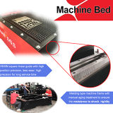 Máquina de corte de láser de fibra de procesamiento de tubos de alta precisión CNC