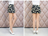 Флористическая юбка лета юбки девушок