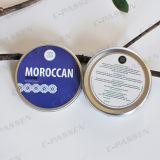 tarro de aluminio etiquetado 200g para la crema de Skincare