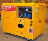 Gerador quieto pequeno do diesel do Portable 5kw