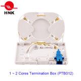 Boîte de terminaison de câble à fibre optique à 1 ~ 4 cœurs (PTB012)