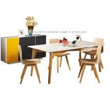 Modernes festes Holz, das Stuhl (Denken, speist)