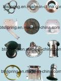 Aço inoxidável, alumínio, bronze, Delrin, peças fazendo à máquina do CNC pelo CNC, girando, trituração, mmoendo