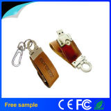 Förderung-ledernes Schlüsselkette USB-Blitz-Laufwerk