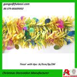 De MetaalSlingers van de Decoratie van Kerstmis