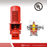 Pompe antincendio con il motore di Commins e la struttura della pagina (UL elencata)