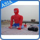 Modelo inflável do Spiderman do fabricante profissional/desenhos animados infláveis venda quente