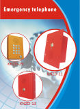 Koontech Emergency Telefon industrielles Analogtelephone Metro-Telefon Knzd-13