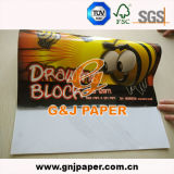 Papier de retrait fabriqué à la main d'enfant pour le modèle de DAO