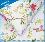 花及び鳥はポリエステル羽毛布団カバーセットを印刷した