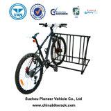 6개의 자전거 지면 마운트 자전거 저장 주차 선반 대