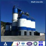 Chaîne de production active de chaux four à chaux vertical d'axe