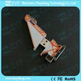 Kundenspezifisches Kran-Form 8GB USB-Blitz-Laufwerk mit Firmenzeichen (ZYF1089)