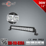 14 duim 36W 12PCS*3W Single Row LED Light Bar voor Boat (sm-11x-036A)