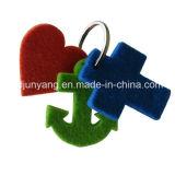 Filz-Schlüsselringe mit Firmenzeichen anpassen