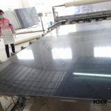 Kingkonree lastra del quarzo del nero dello specchio di 3cm e di 2cm Caesarstone