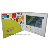 Promotion (ID4301)のための4.3inch Video Business Card Video Greeting Card Video Advertizing Card