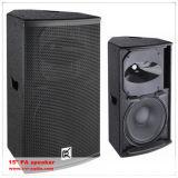 Altavoz audio de la caja del baile del altavoz grande del agua altavoz de 15 pulgadas
