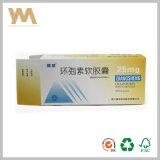 Verpackungs-Papierkasten für Medizin