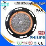 Indicatore luminoso della baia del UFO di luminosità eccellente alto con Philip LED