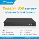 소기업을%s 4 선택적인 GSM 모듈을%s 가진 Yeastar S50 VoIP PBX 시스템
