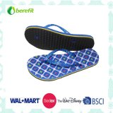 Slippers das mulheres com EVA Sole e PVC Straps, Light Wear Feeling